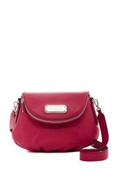 Marc By Marc Jacobs Mini Natasha Leather Crossbody Pink