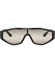 Vogue Eyewear Highline Visor Sunglasses Black