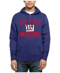 47 Brand '47 Men's New York Giants Gym Issued Hoodie Royalblue Red