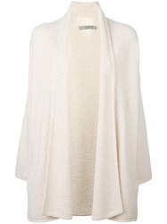 Vince Button Less Cardigan Nude Neutrals