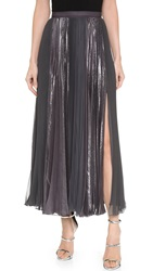 J. Mendel Pleated Skirt Anthracite