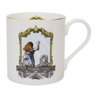 Mrs Moore's Vintage Store Alice Through The Looking Glass Mug