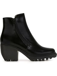 Opening Ceremony Zipped Ankle Boots Black