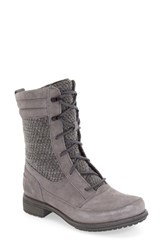 The North Face Women's 'Bridgeton Lace' Waterproof Boot Pearl Grey Dark Shadow Grey