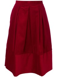 Societe Anonyme Marion Skirt Cotton Red