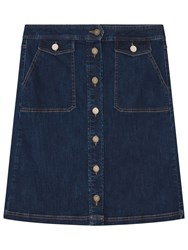 Gerard Darel Justine Skirt Light Indigo