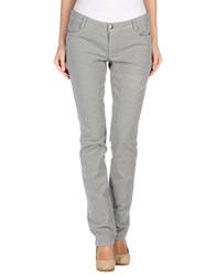Siviglia Trousers Casual Trousers Women Light Grey