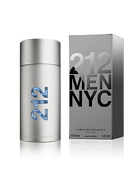 Carolina Herrera 212 Men Eau De Toilette 3.4 Oz. No Color