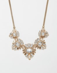Lipsy Deco Crystal Collar Necklace Imgold