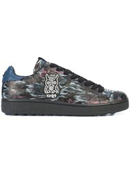 Coach X Keith Haring C101 Sneakers Blue