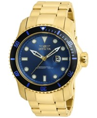 Invicta Men's Pro Diver Gold Tone Stainless Steel Bracelet Watch 49Mm 20097
