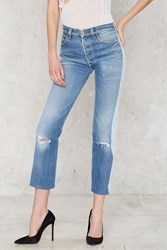 Nasty Gal After Party Vintage Levi's 501 Jeans Tonal