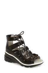 Jambu Women's Milano High Top Wedge Sandal