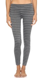 Eberjey Ticking Stripes Leggings Thunderstorm