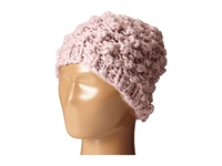 San Diego Hat Company Knh3352 Chunky Yarn Beanie With Silver Sequin Thread Blush Beanies Pink