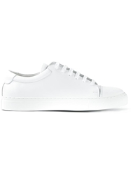 National Standard Classic Lace Up Sneakers White