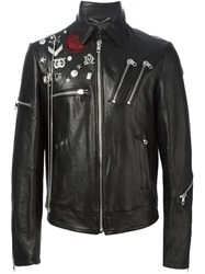 Diesel Black Gold 'Lyberte' Biker Jacket