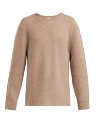 Joostricot Cashmere Blend Oversized Sweater Light Brown