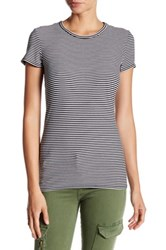 Michael Stars Striped Crew Neck Tee Multi