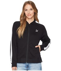 Puma Classics Logo T7 Track Jacket Cotton Black Coat