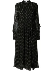 Lala Berlin Printed Dress Black