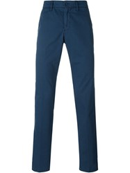 Aspesi Straight Leg Chinos Blue
