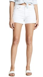 Ag Jeans The Hailey Cutoff Shorts 1 Year Low White