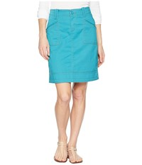 Aventura Clothing Arden Skirt Pagoda Blue