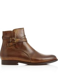 Hudson Dillie Flat Ankle Boot Tan