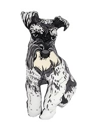 Silken Favours Roy The Schnauzer Pillow