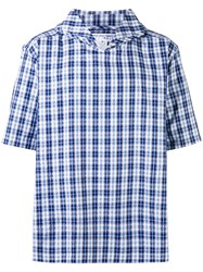 Comme Des Garcons Shirt Boys Sailor Men Cotton M Blue