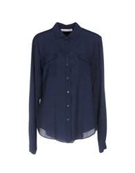 Caractere Shirts Dark Blue