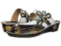 Spring Step Santorini White Women's Sandals