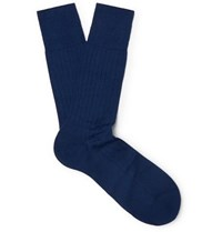 Falke No. 2 Cashmere Blend Socks Royal Blue