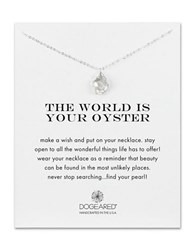 Dogeared Cultured Freshwater Keshi Pearl Sterling Silver Pendant Necklace
