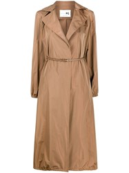 Manzoni 24 A Line Belted Waist Trench Coat 60