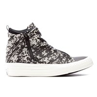 Converse Women's Chuck Taylor All Star Selene Wedged Boots Black Gold