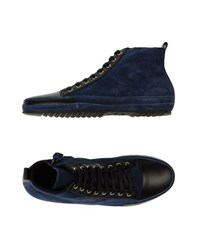 Cnc Costume National Costume National Homme Footwear High Tops And Trainers Men Blue