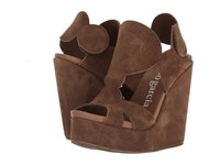 Pedro Garcia Timberly Cocoa Castoro Women's Wedge Shoes Brown