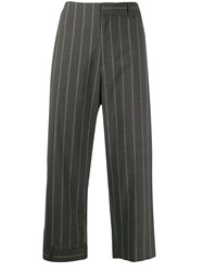 Monse Cropped Pinstriped Trousers 60