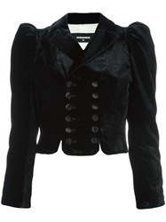 Dsquared2 Cropped Bolero Jacket Black