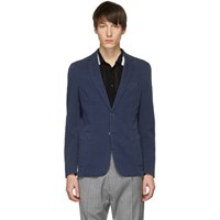 Boss Blue Hanry Slim Fit Blazer