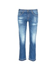 Rag And Bone 'X Boyfriend' Slim Fit Straight Leg Jeans Blue