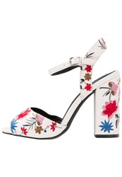 Miss Selfridge Chapter High Heeled Sandals White