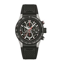 Tag Heuer Carrera Calibre 01 Skeleton Watch Unisex Clear