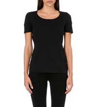 Wolford Jersey T Shirt Black