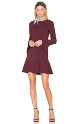 Theory Marah Dress Burgundy