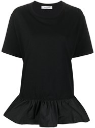 Valentino Ruffled Detail T Shirt 60