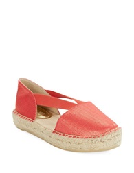 Kenneth Cole Reaction Espanol Espadrilles Flats Apricot