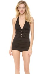 Juicy Couture Bow Chic Swimsuit Black